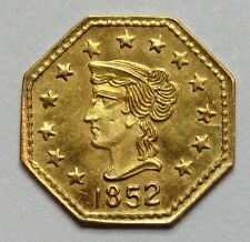 ETATS-UNIS - 1/4 de Dollar California Gold - 1852 -