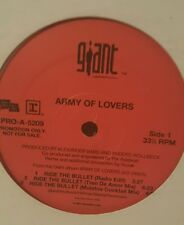 "Army Of Lovers - Ride The Bullet PRO-A-5209 12"" 33 1/3 RPM Vinyl Record"