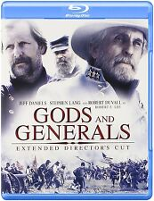 GODS AND GENERALS :Extended Director's Cut -  Blu Ray - Sealed Region free