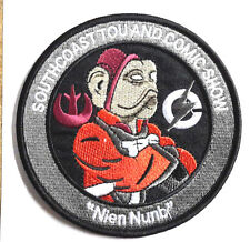 "Star Wars 4"" Nien Numb Southcoast Comic Com Promo Patch- FREE S&H (SWPA-KL-12)"