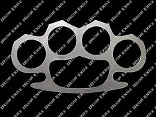 Brass Knuckle Duster Paint Stencil Rat Rod Punk Rockabilly Biker Gothic