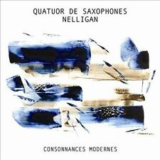 QUATUOR DE SAXOPHONES NELLIGAN-CONSONANCES MODERNES (CAN)  CD NEW