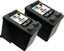 2PK FOR HP 56 C6656AN PSC 1216 1217 1310 1311 1312 1315 1317 1318 1340 1350 1355