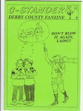 C-Stander no 5 Derby County Fanzine