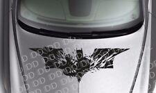 Large Dark Batman Strike Logo Superhero Comic Car Hood Body Vinyl Sticker Decal