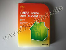 Office 2010 Home and Student Vollversion, deutsch - gebraucht - SKU: 79G-01904