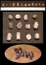 Lot n°11 de Saphir brut de Tanzanie 25ct/5g minéraux /lithothérapie/ précieuses