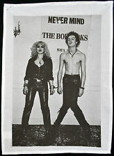 SID VICIOUS & NANCY TEA TOWEL SEX PISTOLS PUNK ROCK 1977 WALL HANGING POSTER