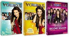 Victorious Complete Season 1 2 DVD Set Nickelodeon Series TV Show Ariana Grande