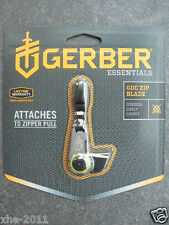 Gerber GDC 7Cr17 Keychain Zip Blade Daily Carry Outdoor Pocket Utility Knife1742