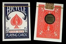 Gold Standard 2 Deck Set Red Blue Bicycle Playing Cards Poker Size USPCC Limited