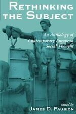 Rethinking The Subject: An Anthology Of Contemporary European Social-ExLibrary