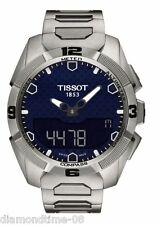 NEW TISSOT T-TOUCH EXPERT SOLAR MEN'S WATCH T091.420.44.041.00 T0914204404100