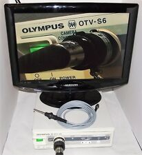 OLYMPUS OTV-S6 ENDOSCOPY PROCESSOR & CAMERA + AR-T12QA COUPLER & LIGHT ADAPTOR