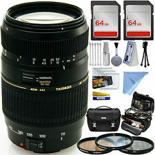 TAMRON 70-300mm MACRO LENS F/4-5.6 Di LD for NIKON MPN AF017NII-700 ADVANCED KIT
