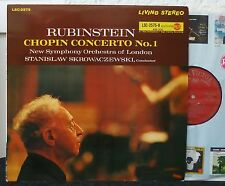 LSC-2575  RUBINSTEIN Chopin  Concerto No. 1 in E Minor, op. 11  Living Stereo LP
