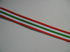 World War II Italy Star Medal Ribbon Miniature 15cm long