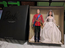 Barbie Genuine Unopened William and Kate Wedding Dolls - Perfect, New Condition