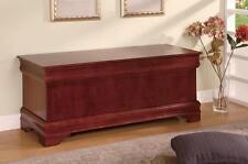 Louis Philippe Style Cedar Chest in a Cherry Finish by Coaster 900022