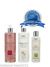 SBC Skin Care Trio - Vitamin ACE Gel 250ml, 3 in1 Collagen Cleanser, Exfoliater