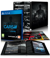 Project Cars Limited Edition Steelbook Legendary Cars DLC C.A.R.S. PS4 Artbook