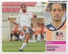 ABDELNASSER OUADAH # ALGERIE AC.AJACCIO VIGNETTE STICKER  PANINI  FOOT 2003 ~