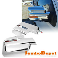Chrome Side Mirror Cover Trim Fit For Ford F-150 2009 2010 2011 2012 2013 2014