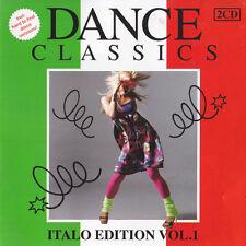 DANCE CLASSICS ITALO EDITION VOL. 1 / 23TR 2CD 2011 RARE!!!