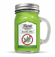 12oz Cannabis Killer Scented Ultra Premium Jar Candle 90Hr Burn Time  by Beamer®