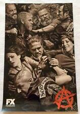 """SONS OF ANARCHY - 11""""x17"""" Original Promo TV Poster SDCC 2014 Comic Con MINT"""