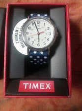 New Timex Weekender Collection 24 hr Military time Indiglo