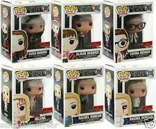 Funko Pop! Television Orphan Black Complete Set Of 6 Hot Topic Pre-Releases