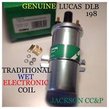 Lucas DLB198 bobine d'allumage traditionnelle humide/électronique s'adapte jag, rover, lotus, rolls