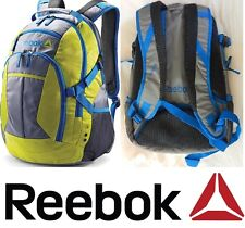 Reebok Delta Core Grouper Laptop, Gym School Backpack Safety Yellow/Grey