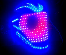 Programmable LED Light Helmet for DJ Gigs Daft Rave Costume Cosplay Punk