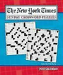 The New York Times Sunday Crossword Puzzles 2013 Weekly Planner Calendar: Edited