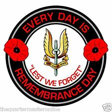 SAS Special Air Service Remembrance Day Inside Car Window Clear Cling Sticker