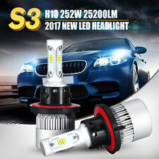 H13 9008 252W 25200LM PHILIPS LEDS HEADLIGHTS HI/LOW BEAM WHITE 6500K BULBS