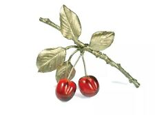 Morello Cherry Pin Brooch by Michael Michaud for Silver Seasons