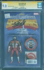 Secret Wars 5 CGC SS 9.8 Stan Lee Falcon Action Figure Variant Top 1 Avengers