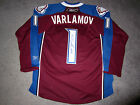 SEMYON VARLAMOV Colorado Avalanche SIGNED Autographed Home JERSEY w/COA New M