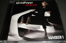 GOLDFRAPP cd NUMBER 1 6 Track RARE Single BEAUTIFUL all night OPERATOR ooh la la