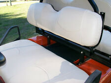 EZ-GO TXT Golf Cart Custom Deluxe Seat Covers-Front and Rear Sets(Ivory)