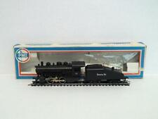 VINTAGE PMI HO SCALE SANTA FE 0-4-0 SHIFTER & SLOPE TENDER TRAIN LIMA ITALY IOB