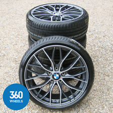 "NUOVO Originale BMW 1 E 2 SERIE 19 "" 405 M SPORT DOUBLE SPOKE Ruote in Lega Pneumatici F20"