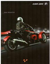 Can-Am Spyder Roadster 2008 UK Market Sales Brochure