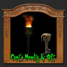 4 New Silk Flame Halloween Torch with Batteries Included FREE SHIPPING