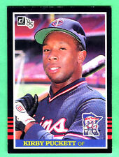 1985 DONRUSS TWINS KIRBY PUCKETT ROOKIE RC #438 NRMT