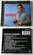 RICHARD ANTHONY .. 1987 France EMI CD TOP