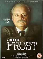 A TOUCH OF FROST - Complete 10th Series. David Jason. ITV (3xDVD BOX SET 2004)